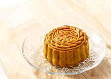 Εύγευστο mooncake Στοκ Εικόνα