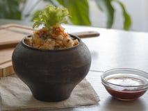 Εύθρυπτο φαγόπυρο με το βούτυρο, τρόφιμα υγιή Στοκ εικόνα με δικαίωμα ελεύθερης χρήσης