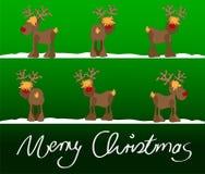 εύθυμα Χριστούγεννα Χρι&sigma Στοκ φωτογραφίες με δικαίωμα ελεύθερης χρήσης