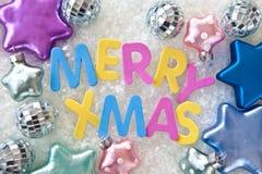 Εύθυμα Χριστούγεννα Στοκ εικόνα με δικαίωμα ελεύθερης χρήσης