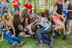 Εύθυμες διακοπές Σωρός- Στοκ εικόνες με δικαίωμα ελεύθερης χρήσης