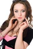 εύθυμες νεολαίες γυν&alph στοκ εικόνα με δικαίωμα ελεύθερης χρήσης