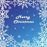 εύθυμη κάρτα Χριστουγένν&omega διανυσματική απεικόνιση
