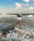 εύθυμη Μεσόγειος ατόμων &kap Στοκ εικόνες με δικαίωμα ελεύθερης χρήσης