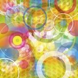 Εύθυμοι κύκλοι Στοκ Εικόνα