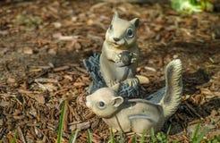 Εύθυμοι σκίουροι Στοκ φωτογραφία με δικαίωμα ελεύθερης χρήσης