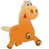 Εύθυμο άλογο ελεύθερη απεικόνιση δικαιώματος