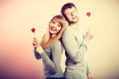 Εύθυμο ζεύγος που από κοινού Στοκ φωτογραφίες με δικαίωμα ελεύθερης χρήσης