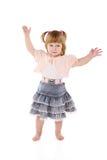 εύθυμο κορίτσι λίγα στοκ εικόνα με δικαίωμα ελεύθερης χρήσης