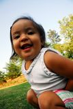 Εύθυμο μικρό κορίτσι Στοκ φωτογραφία με δικαίωμα ελεύθερης χρήσης