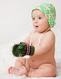 Εύθυμο μωρό Στοκ εικόνα με δικαίωμα ελεύθερης χρήσης