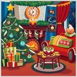 εύθυμο νέο έτος Χριστου&gamm Στοκ εικόνα με δικαίωμα ελεύθερης χρήσης