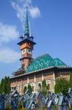 Εύθυμο νεκροταφείο σε Sapanta, κομητεία Maramures, Ρουμανία στοκ φωτογραφίες