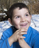 Εύθυμο παιδί Στοκ εικόνα με δικαίωμα ελεύθερης χρήσης