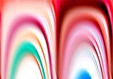 Εύθυμο φωσφορίζον ρόδινο υπόβαθρο χρωμάτων και μορφών αντίθεσης στα χρώματα κρητιδογραφιών Στοκ φωτογραφία με δικαίωμα ελεύθερης χρήσης