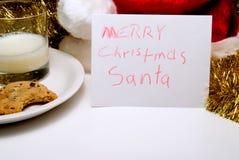 εύθυμο santa Χριστουγέννων Στοκ φωτογραφίες με δικαίωμα ελεύθερης χρήσης