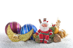 εύθυμο santa Claus Χριστουγέννων Στοκ Φωτογραφίες