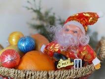 εύθυμο santa Claus Χριστουγέννων Στοκ Εικόνες
