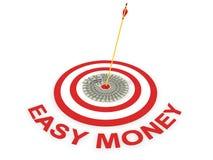 εύκολα χρήματα έννοιας Στοκ εικόνα με δικαίωμα ελεύθερης χρήσης