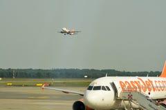 Εύκολα αεριωθούμενα αεροπλάνα Στοκ εικόνες με δικαίωμα ελεύθερης χρήσης