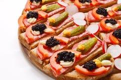 Εύκολες επιλογές γευμάτων Στοκ Εικόνα