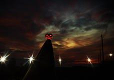 εύκολος επιμεληθείτε τη νύχτα εικόνας αποκριών στο διάνυσμα Στοκ εικόνες με δικαίωμα ελεύθερης χρήσης