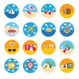 εύκολος επιμεληθείτε το εικονίδιο για να ταξιδεψετε Στοκ Εικόνες