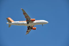 Εύκολο αεριωθούμενο αεροπλάνο Στοκ εικόνες με δικαίωμα ελεύθερης χρήσης
