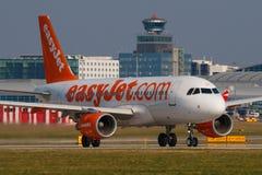 Εύκολο αεριωθούμενο αεροπλάνο Στοκ Εικόνες