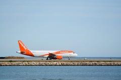 Εύκολο αεριωθούμενο αεροπλάνο Στοκ Εικόνα