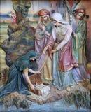 Εύρεση του Μωυσή στοκ εικόνες με δικαίωμα ελεύθερης χρήσης