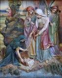 Εύρεση του Μωυσή στοκ εικόνα
