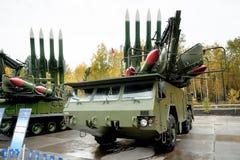 Εδάφους-αέρος πυραυλικά συστήματα Bouck M2E Στοκ Εικόνα