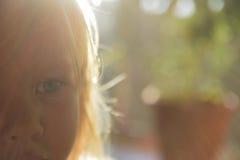 Ελάχιστα μπλε-eyed ξανθός Στοκ φωτογραφία με δικαίωμα ελεύθερης χρήσης