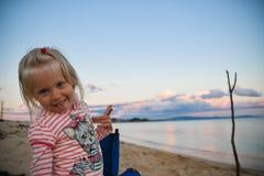 Ελάχιστα μπλε-eyed ξανθός Στοκ φωτογραφίες με δικαίωμα ελεύθερης χρήσης