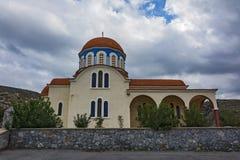 Ελλάδα, Κρήτη - 10 03 2015: Η Ορθόδοξη Εκκλησία Στοκ Εικόνες