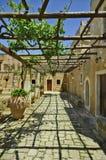 Ελλάδα, Κρήτη, Arkadi Στοκ Εικόνες