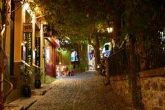 Ελλάδα, Λέσβος, Mithimna στοκ φωτογραφία με δικαίωμα ελεύθερης χρήσης