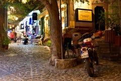 Ελλάδα, Λέσβος, Mithimna στοκ φωτογραφίες με δικαίωμα ελεύθερης χρήσης