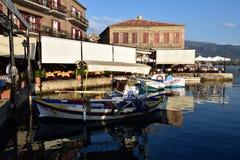 Ελλάδα, Λέσβος, Mithimna στοκ φωτογραφία
