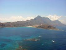Ελλάδα: Νησί Balos στην Κρήτη Στοκ Φωτογραφίες