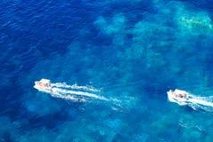 Ελλάδα, νησί Korfu, Paleokastritsa Στοκ Εικόνες
