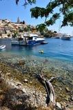 Ελλάδα, νησί Symi στοκ φωτογραφία