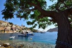 Ελλάδα, νησί Symi στοκ φωτογραφίες