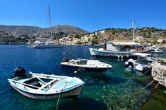 Ελλάδα, νησί Symi στοκ εικόνες με δικαίωμα ελεύθερης χρήσης