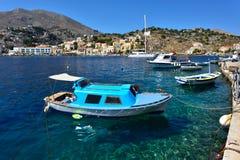 Ελλάδα, νησί Symi στοκ εικόνες