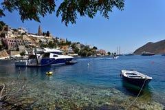 Ελλάδα, νησί Symi στοκ φωτογραφίες με δικαίωμα ελεύθερης χρήσης