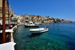 Ελλάδα, νησί Symi στοκ εικόνα