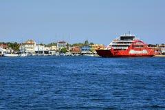 Ελλάδα, νησί Thassos, σκάφη Στοκ Εικόνα