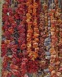 Ελλάδα, ξηρά λαχανικά στην κεντρική αγορά Στοκ φωτογραφίες με δικαίωμα ελεύθερης χρήσης